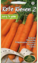 """Carrot """"Rote Riesen 2"""" (on the tape)"""
